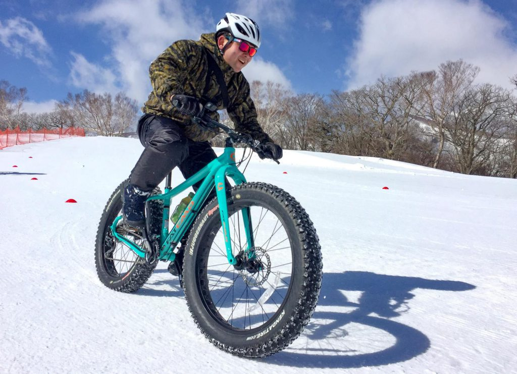 NASU SNOW CYCLING TOUR
