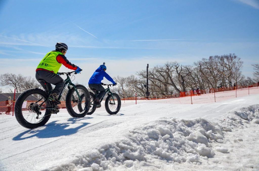 NASU SNOW CYCLING TOUR