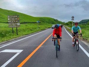 "A fantastic memory of the latest ""Around Kyushu Bike Tour"""