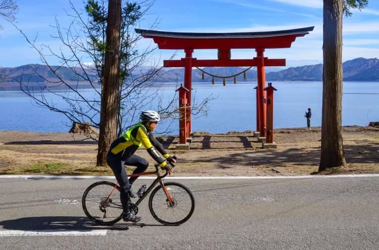The stage 5 of Trans-Tohoku SAKURA Bike Tour