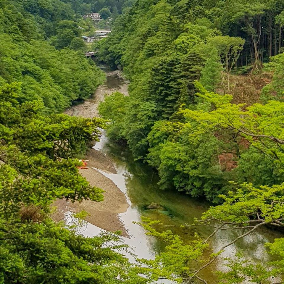 Japanese sceneries captured by eyes of a cyclist from Israel! day1
