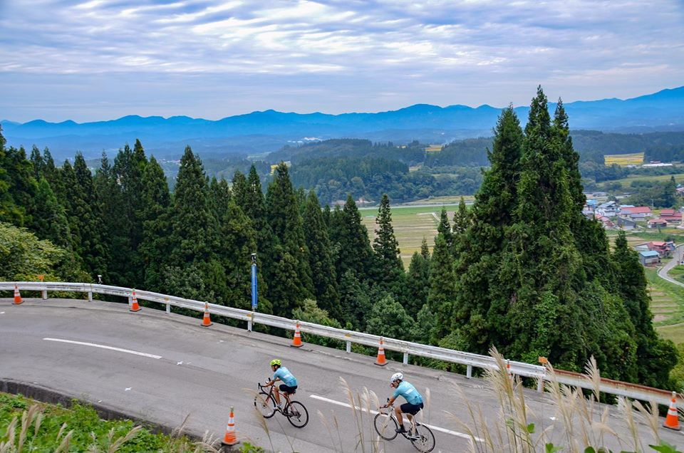 The Stage 4 of TRANS-TOHOKU Bike Tour.