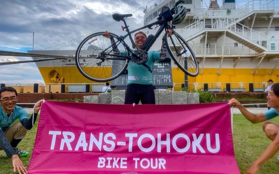 The Stage 10 of TRANS-TOHOKU Bike Tour