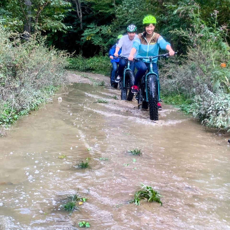 """""""Forest Gravel Ride"""" with Fatbike!"""