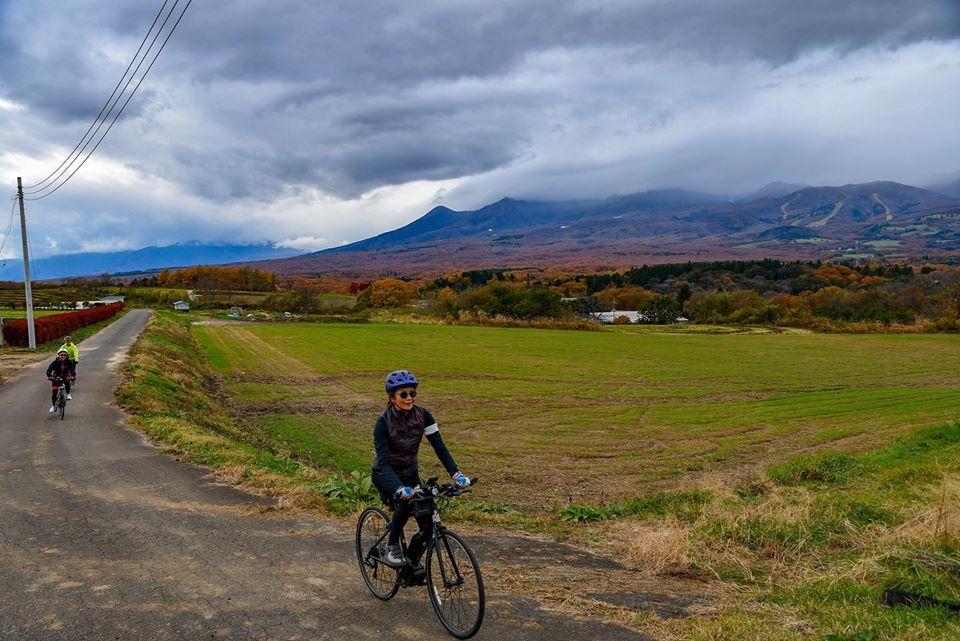 The stage 3 of Foodie's Bike Tour Nikko-Nasu-Aizu