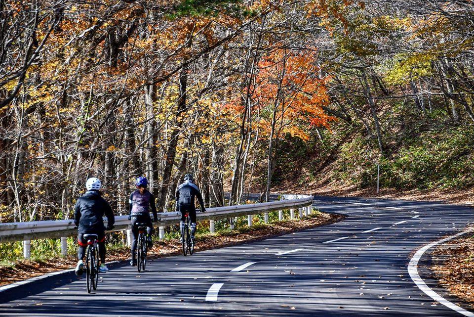 The stage 4 of Foodie's Bike Tour Nikko-Nasu-Aizu
